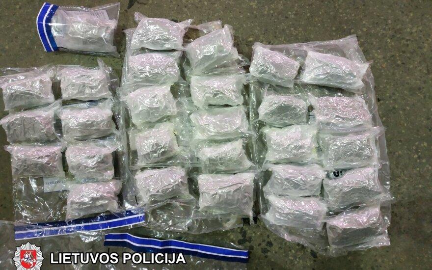 Вильнюсские криминалисты задержали распространителя наркотиков