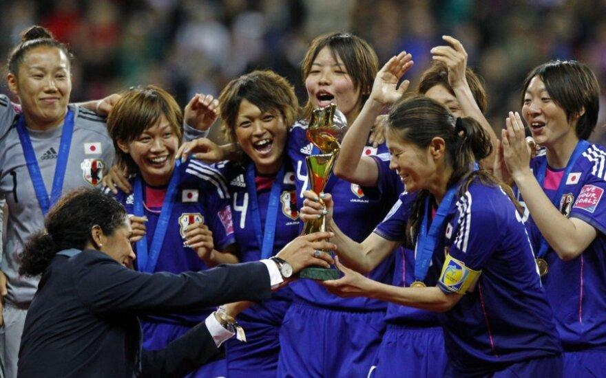 Pasaulio čempionės - Japonijos futbolininkės