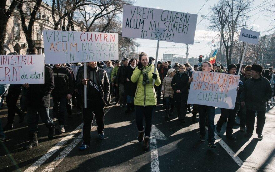 Новое правительство Молдовы приведено к присяге на фоне масштабных протестов