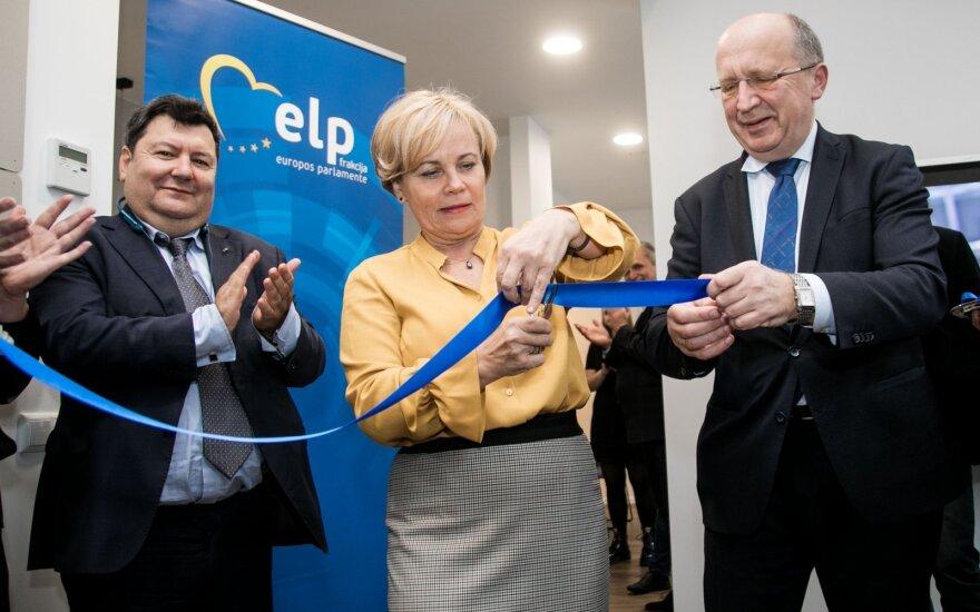 В Европарламенте с подачи Юкнявичене и Кубилюса создали группу дружбы с Россией будущего