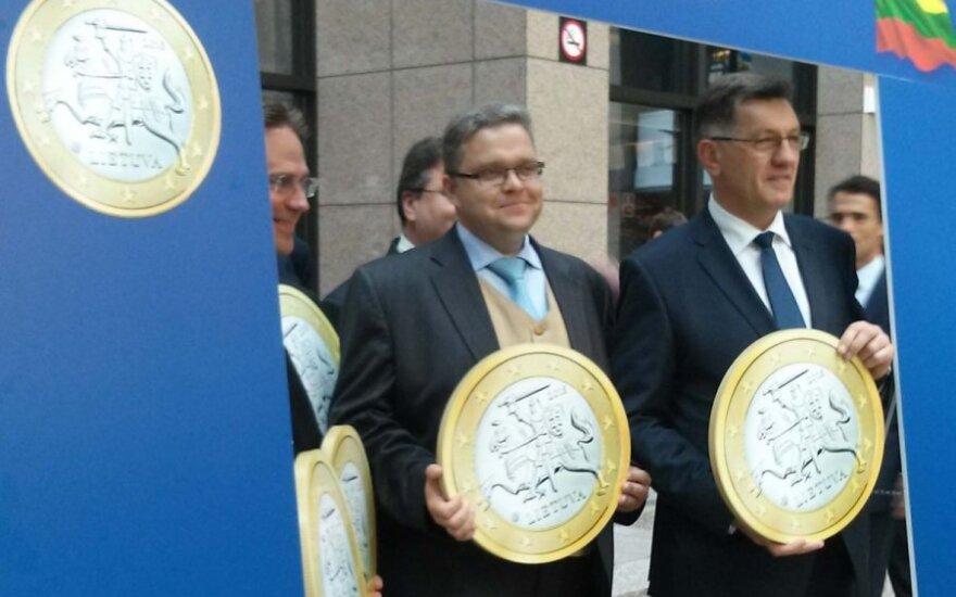 Объявлен официальный курс обмена лита на евро