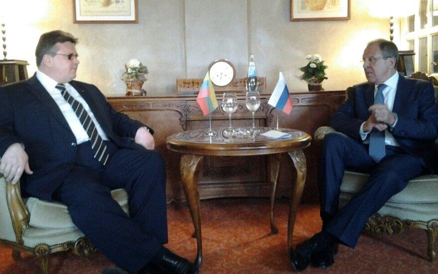 Линкявичюс и Лавров договорились о плане сотрудничества на два года