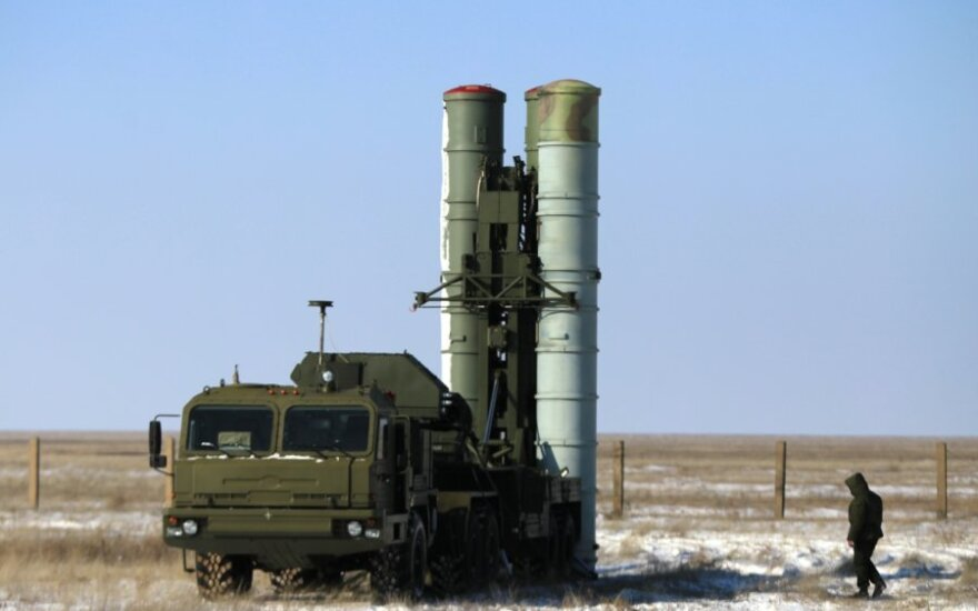 """Rusijos raketos S-400 """"Triumf"""""""