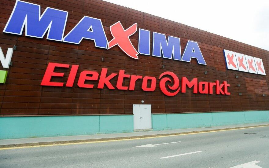 Maxima получила несколько миллионов масок, перчаток, часть - для Эстонии и Польши