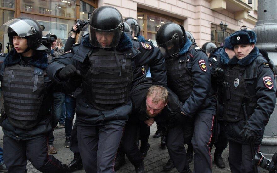 Акции протеста в центре Москвы обернулись задержанием десятков человек