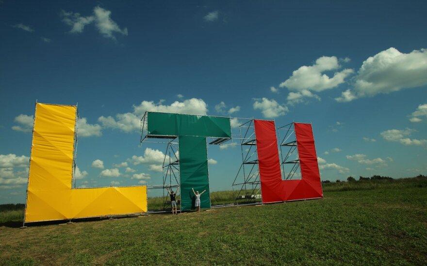 В Салининкай – стенд в поддержку литовских олимпийцев