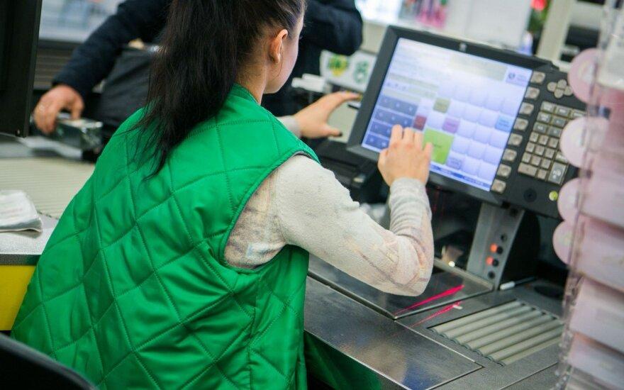 Зарплаты продавцов в Humanа выше, чем в большинстве литовских торговых сетей