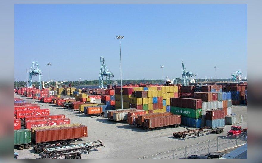 Литовские экспорт и импорт растут