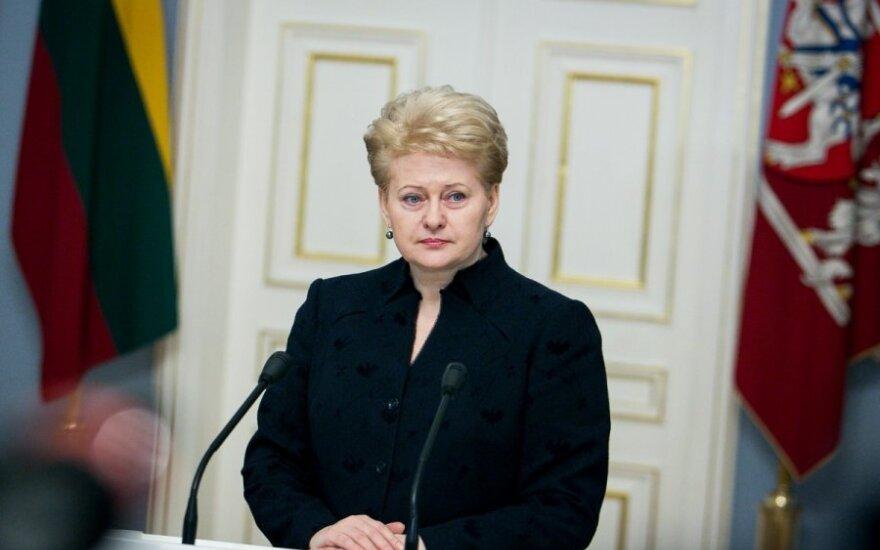 Dalia Grybauskaitė: W koalicji jest chaos przedwyborczy