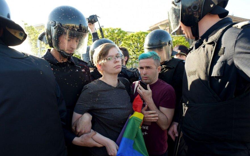 LGBT protestas Rusijoje
