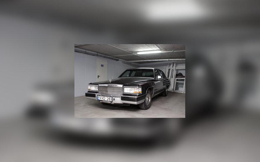 "Limuzinas ""Cadillac Brougham"""