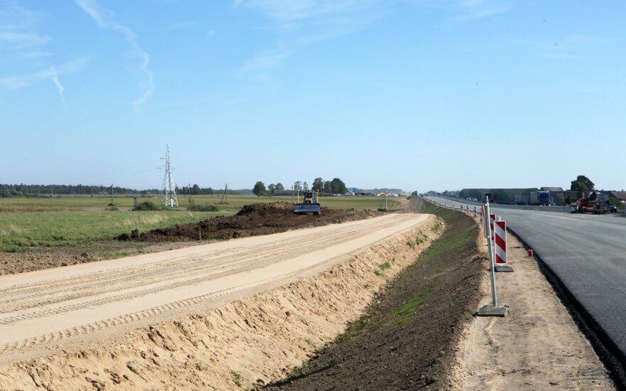 Kelio darbai A5 Kaunas - Marijampolė - Suvalkai