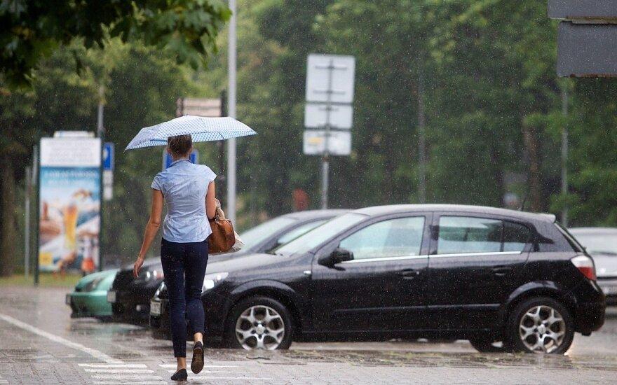 В Литве сохранятся дожди