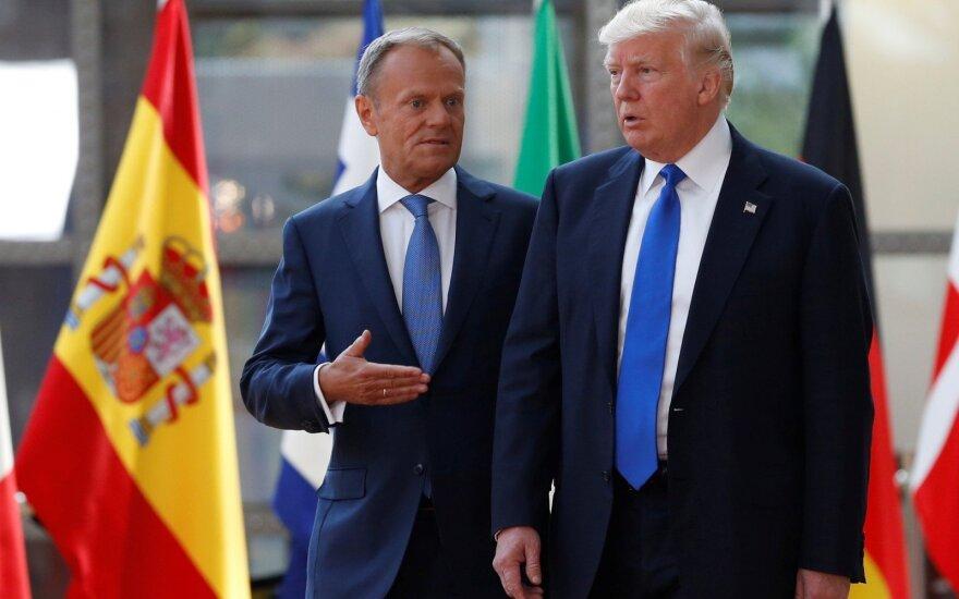 """В ЕС назвали первую встречу с президентом Трампом """"очень хорошей"""""""