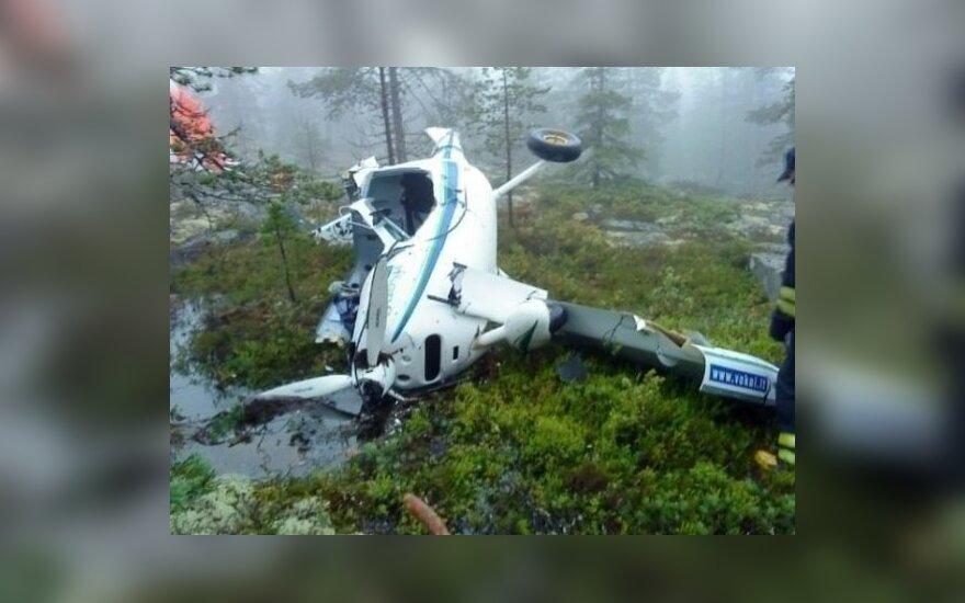 Švedijoje sudužo lietuvių ultralengvasis lėktuvas