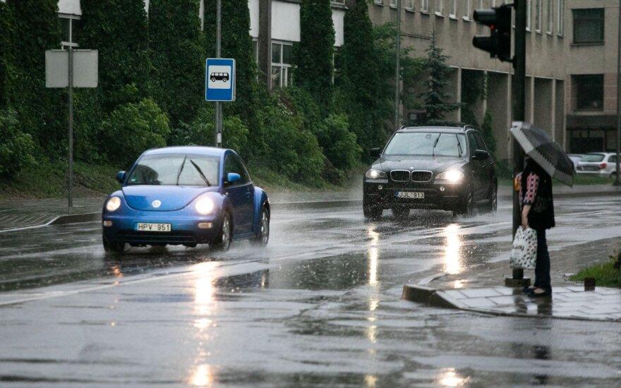 Погода: в Литве будет влажно и тепло