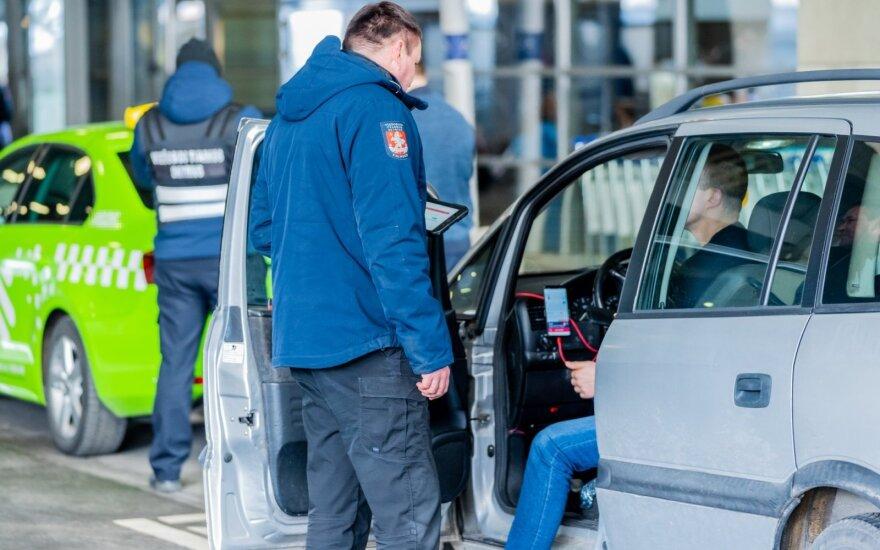 Vilniaus oro uoste vykdomi reidai