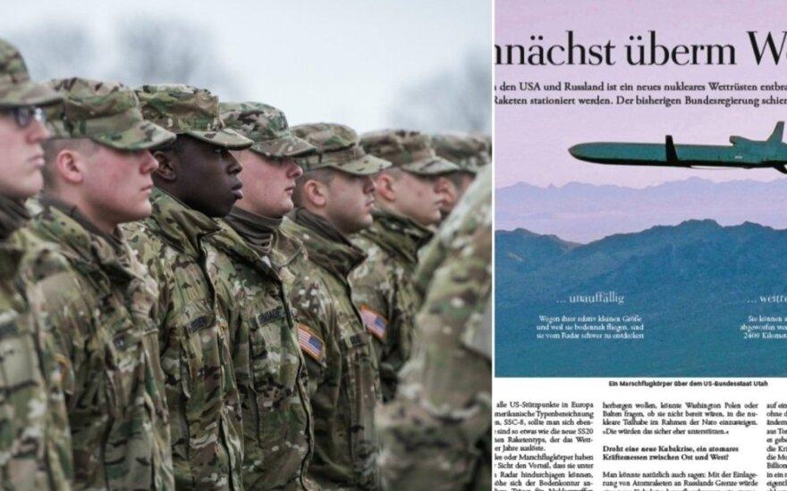 Немецкие СМИ: США могут планировать доставку ядерного оружия в страны Балтии