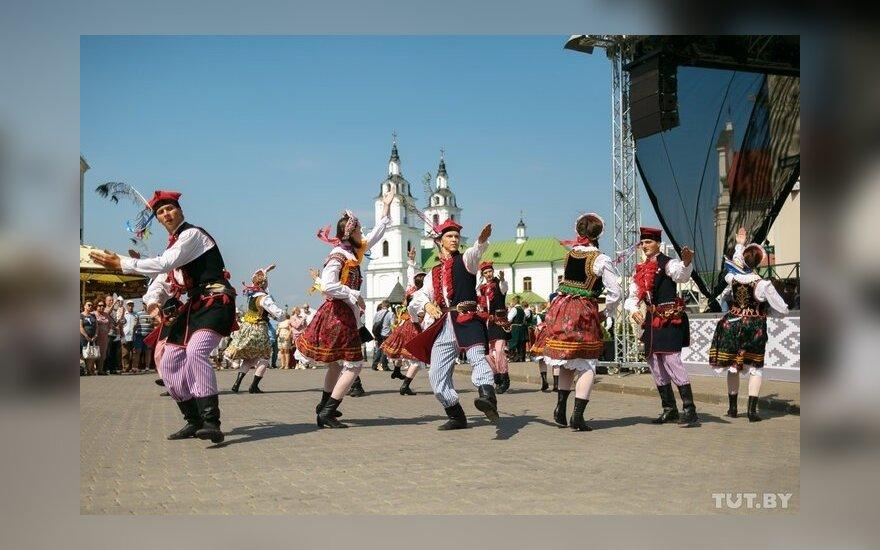 Цеппелины под мазурку: в Минске прошли праздники литовской и польской культуры