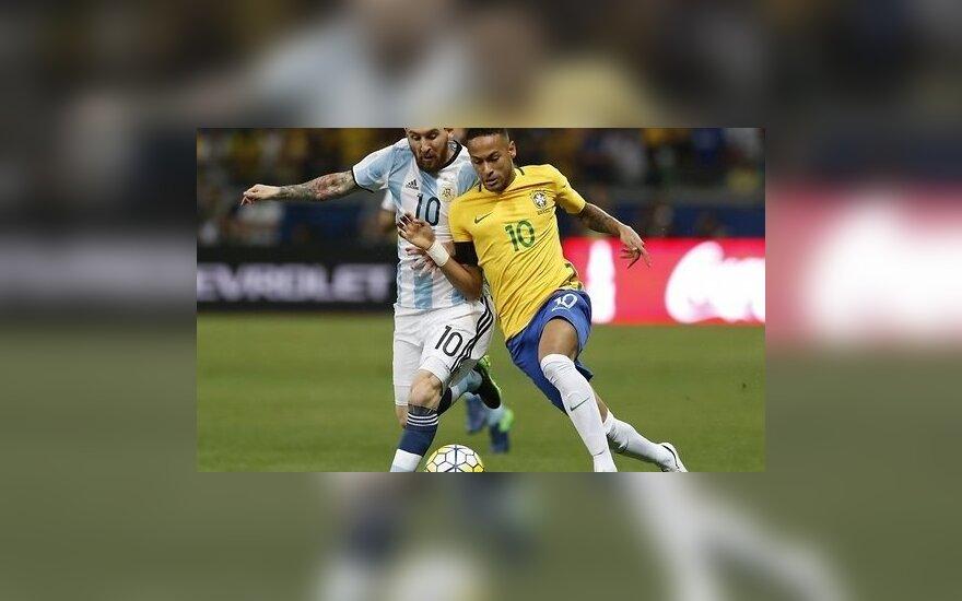 Бразилия громит Аргентину с Месси, Неймар забил 50-й гол за сборную