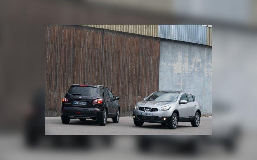 Nissan Qashqai ir +2 versija
