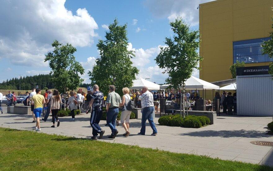 В Вильнюсе из ТЦ IKEA эвакуировали покупателей и персонал