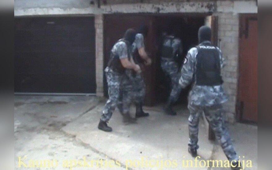 Каунасская полиция ликвидировала банду сына Шустаускаса