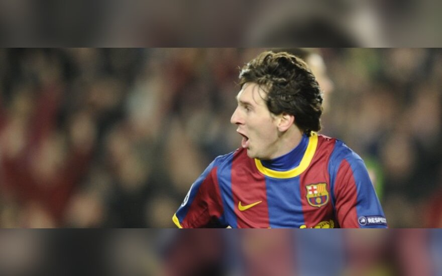 "Lionelis Messi pelnė 2 įvarčius (""Barcelona"")"
