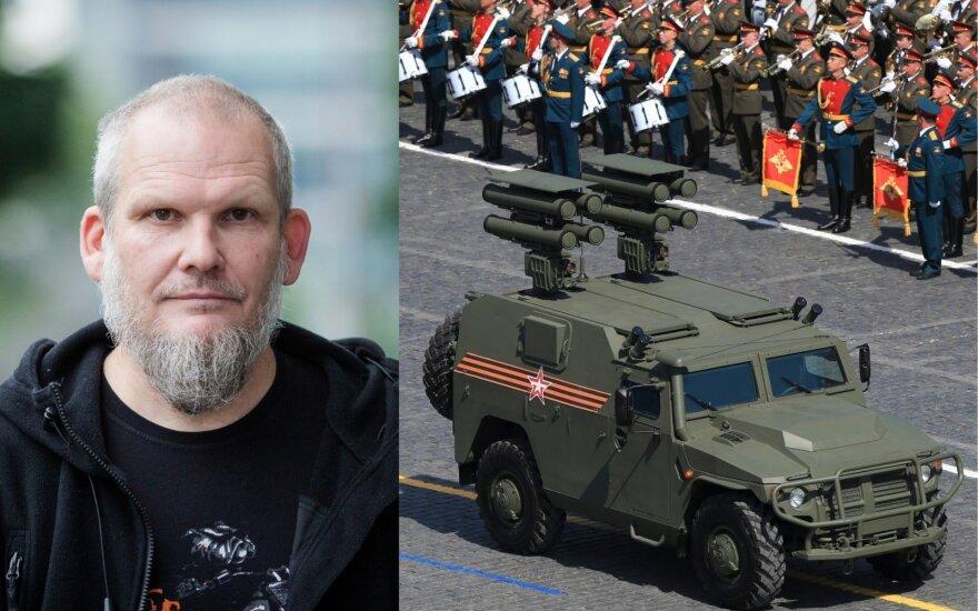 Romas Sadauskas-Kvietkevičius, Pergalės diena Maskvoje