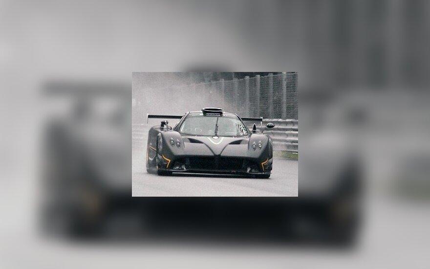 Pagani Zonda R. autoevolution.com nuotr.