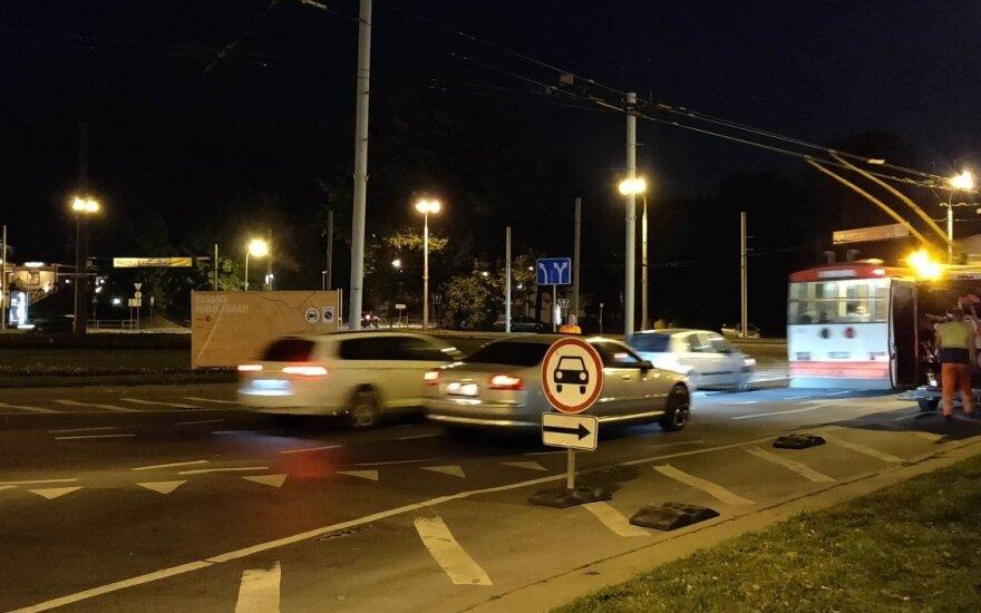 Prieš popiežiaus vizitą uždarytas Vilniaus centras. Dinos Sergijenko nuotr.