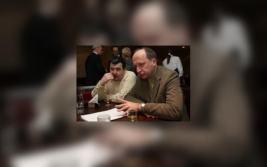 Vytautas Ališauskas ir Andrius Kubilius