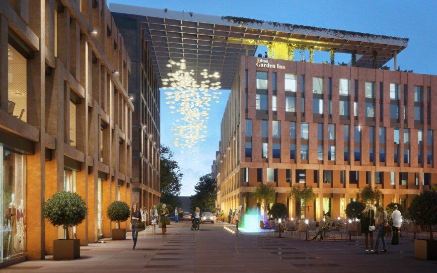 В Вильнюсе появится новая гостиница Hilton