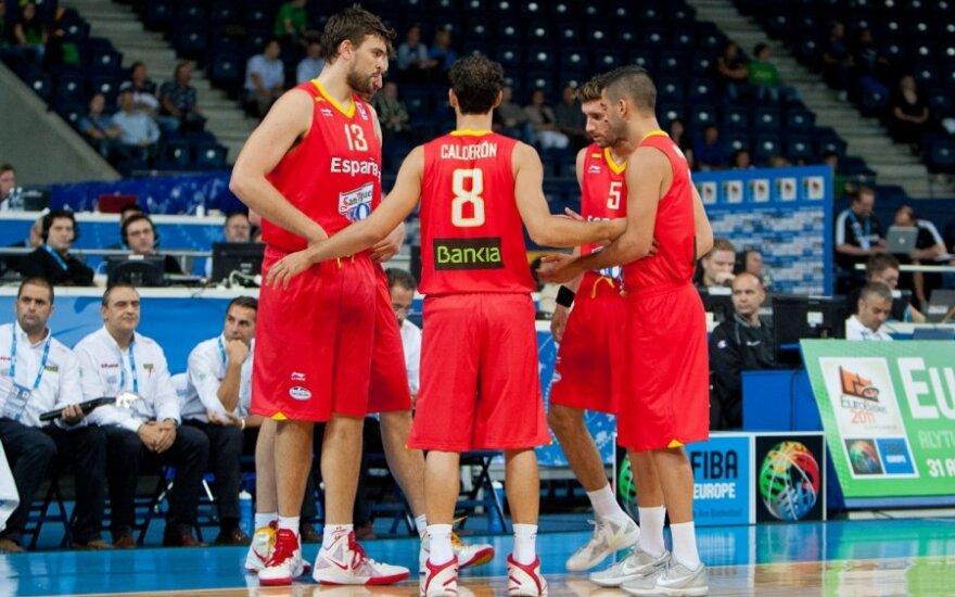Ispanijos vyrų krepšino rinktinė