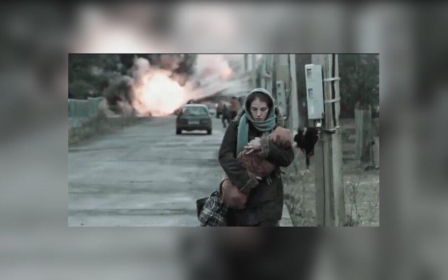 """Лауреат """"Оскара"""" Хазанавичюс представит в Вильнюсе фильм о войне в Чечне"""