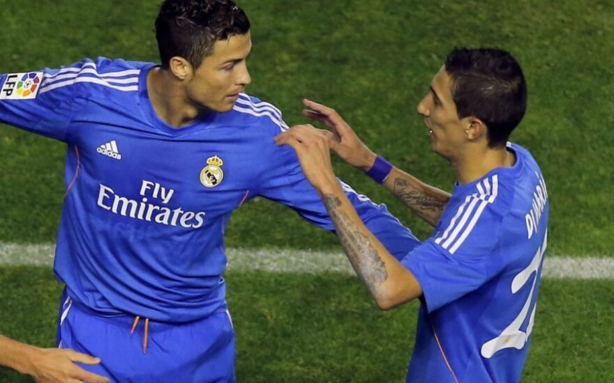 Cristiano Ronaldo ir Angelis Di Maria