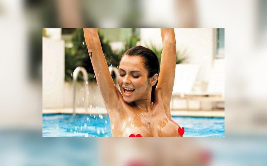 """""""Мисс Евро-2012"""" снялась голой для Playboy"""