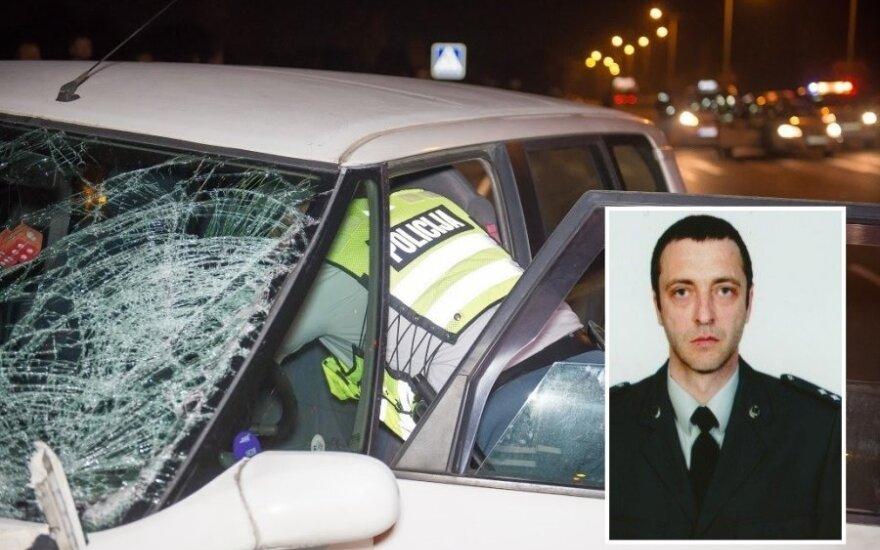 Kruviną avariją sukėlęs Panevėžio kriminalistas Valerijus Salmanas