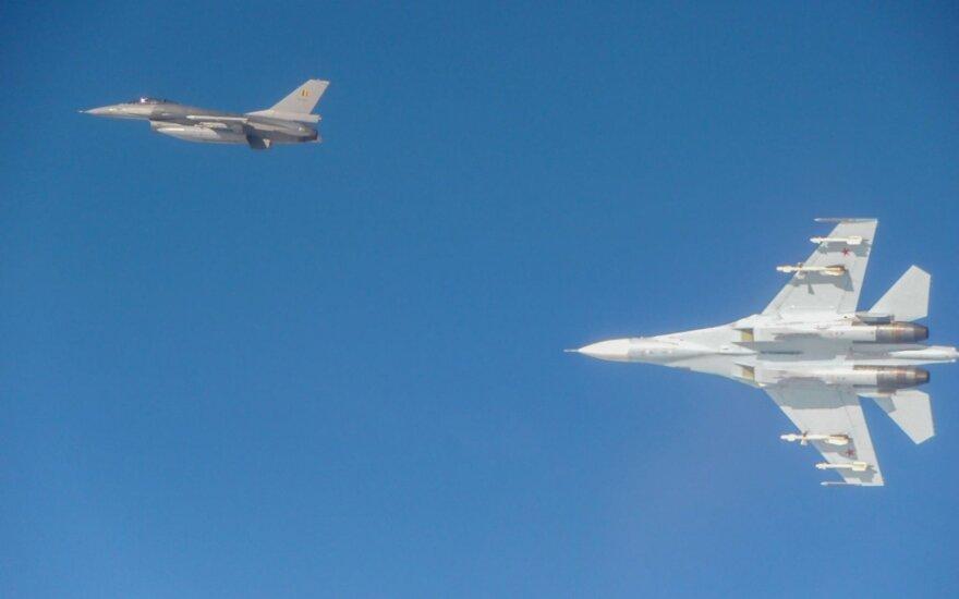 Бельгийские ВВС заявили о перехвате российских истребителей над Балтикой