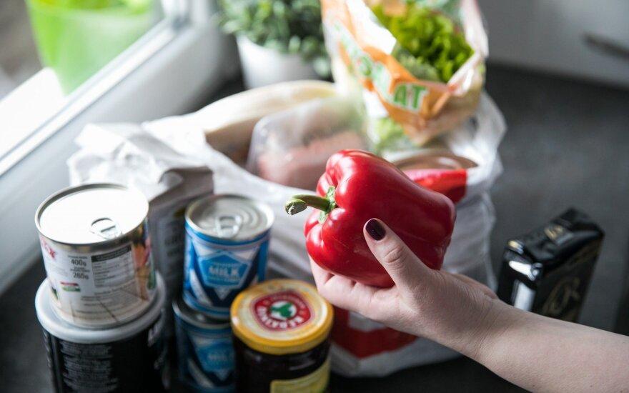 В феврале в Литве подорожали продовольственные товары