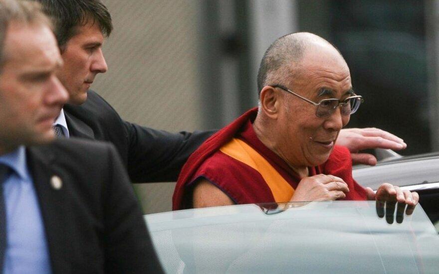В Литву прибыл духовный лидер Тибета Далай-лама