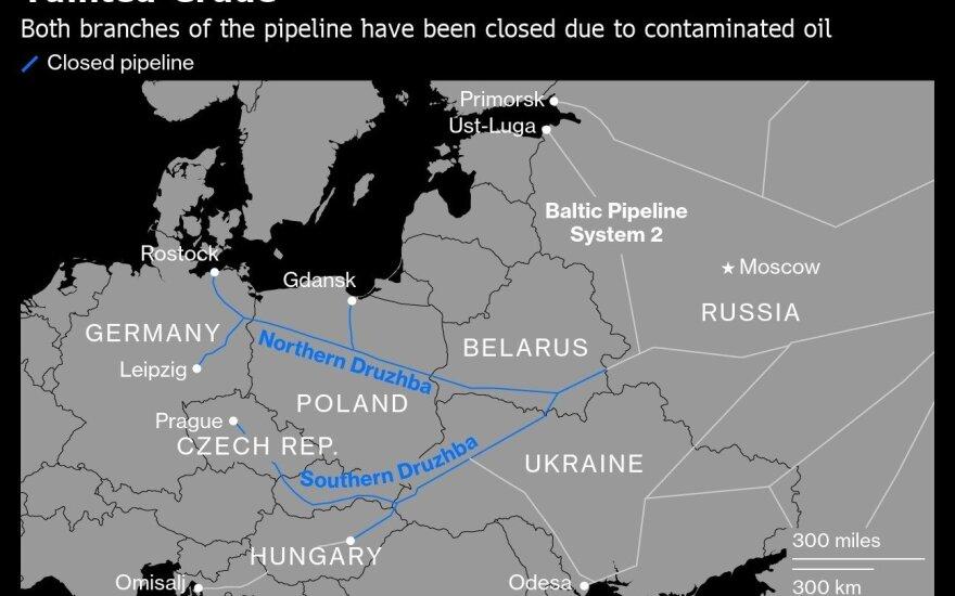 """Четыре человека задержаны по делу о загрязнении нефти в трубопроводе """"Дружба"""""""