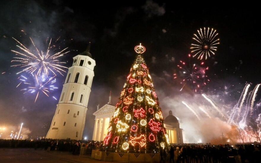 Литва встретила Новый 2014 год