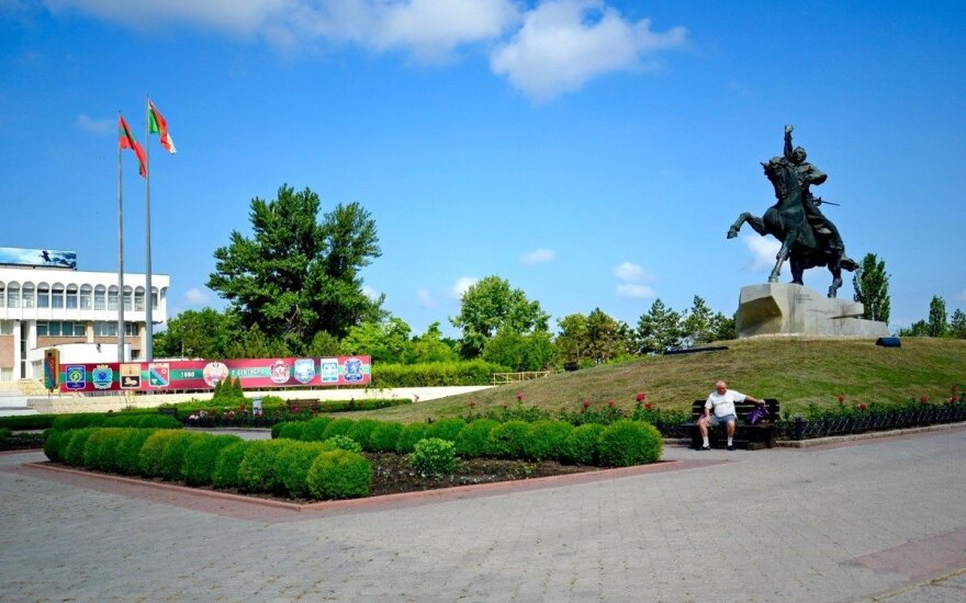 Памятник Суворову в Тирасполе. Фото Валерия Кругликова/Spektr.Press