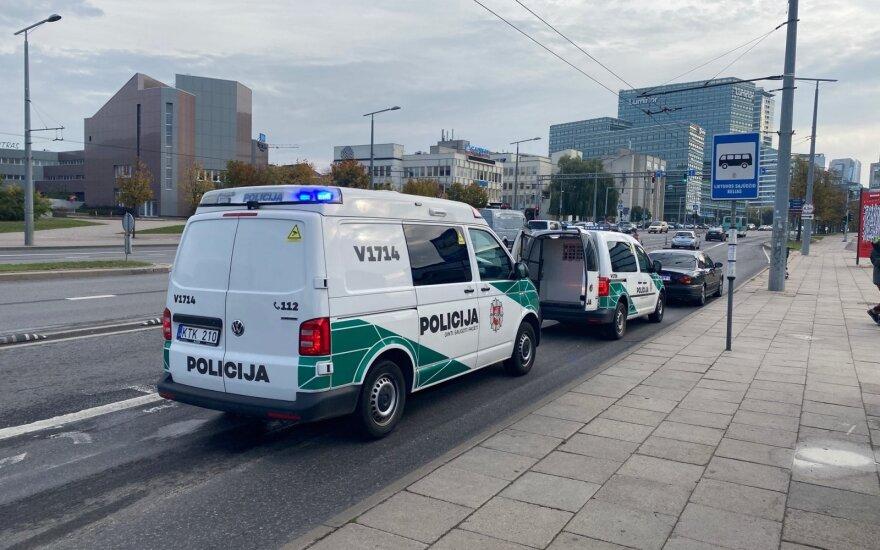 Įtemptos gaudynės Vilniuje: nestojusį vairutoją gaudė 7 policijos ekipažai