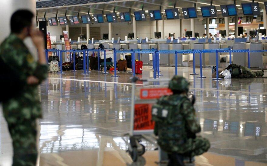 Взрыв в аэропорту Шанхая: трое раненых