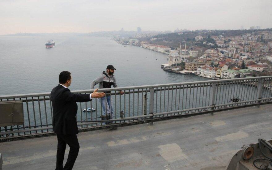 ВИДЕО: Эрдоган отговорил самоубийцу прыгать с моста