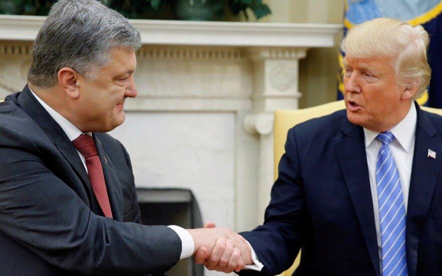 Donaldo Trumpo susitikimas su Petro Porošenka