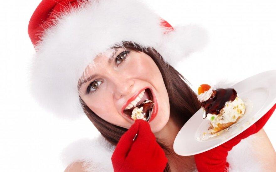 mergina, Kalėdos, pyragaitis