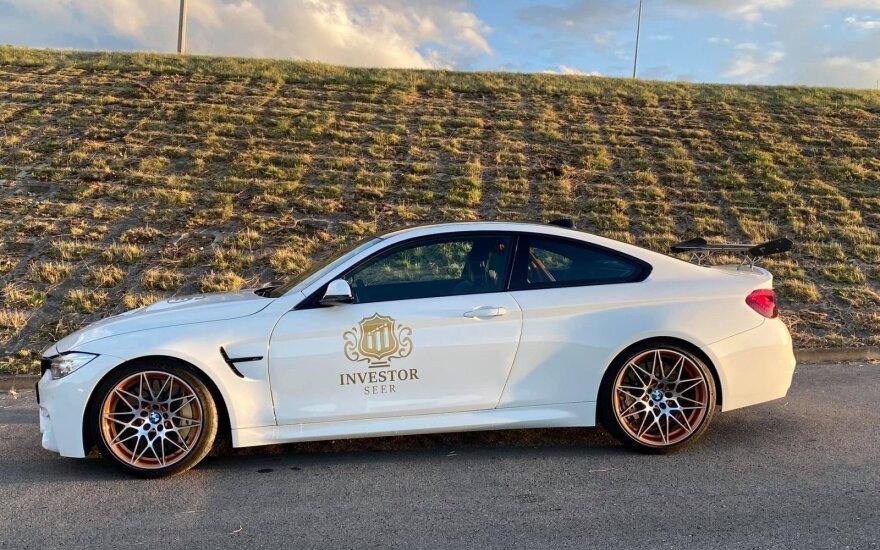 В Паланге угнали двухдверный BMW, во всем мире таких всего 700 шт